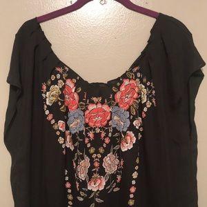 Floral blouse. EUC